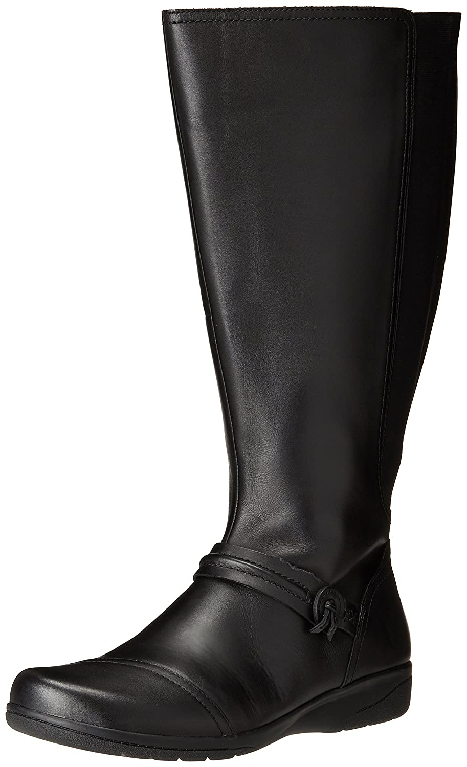CLARKS Women's Cheyn Whisk Wide Calf Knee High US|Black Boot B01MU8LMJG 10 W US|Black High fb924a