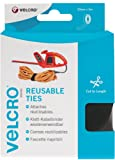VELCRO Brand One-Wrap Reusable Ties, 30 mm x 5 m - Black
