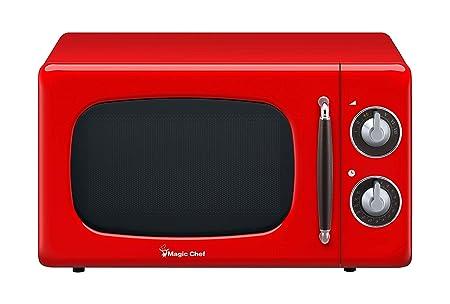 Horno microondas Magic Chef Retro para encimera: Amazon.es ...