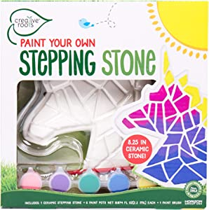 Creative Roots Paint Your Own Unicorn Stepping Stone by Horizon Group USA, Multicolor