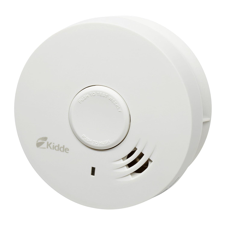 Kidde 10Y29 Smoke Alarm, Optical Photoelectric, White: Amazon.co.uk: DIY &  Tools