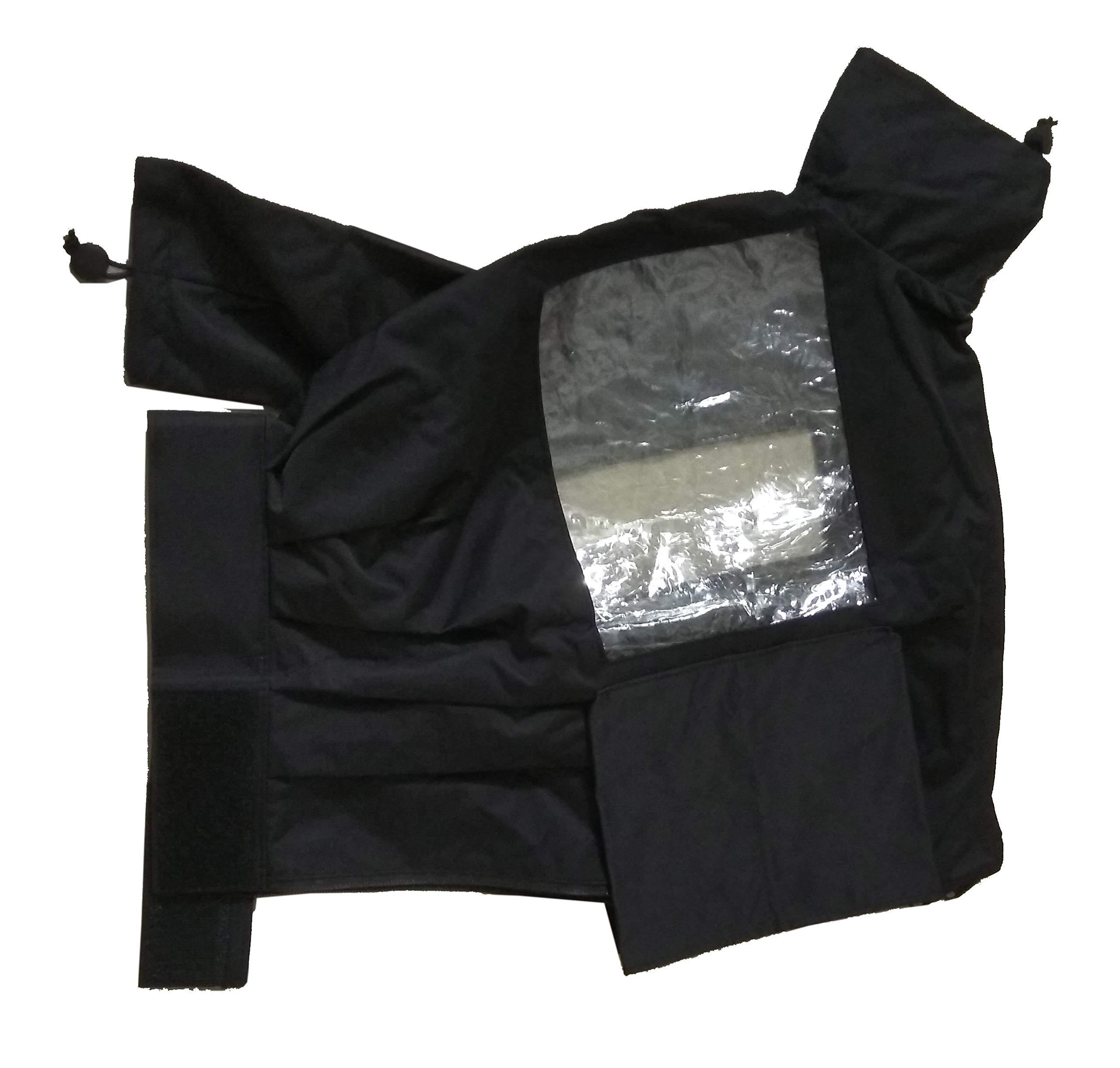 Rain Cover for Sony PXW-FS5 PXW-FS7 PXW-FS5M2 Panasonic AU-EVA1 HC-X1000 Canon XF705 XF315 xf305 JVC GY-HM660 GY-HM610 HM650 HM600 Camcorder by FOREST BRAVE (Image #5)