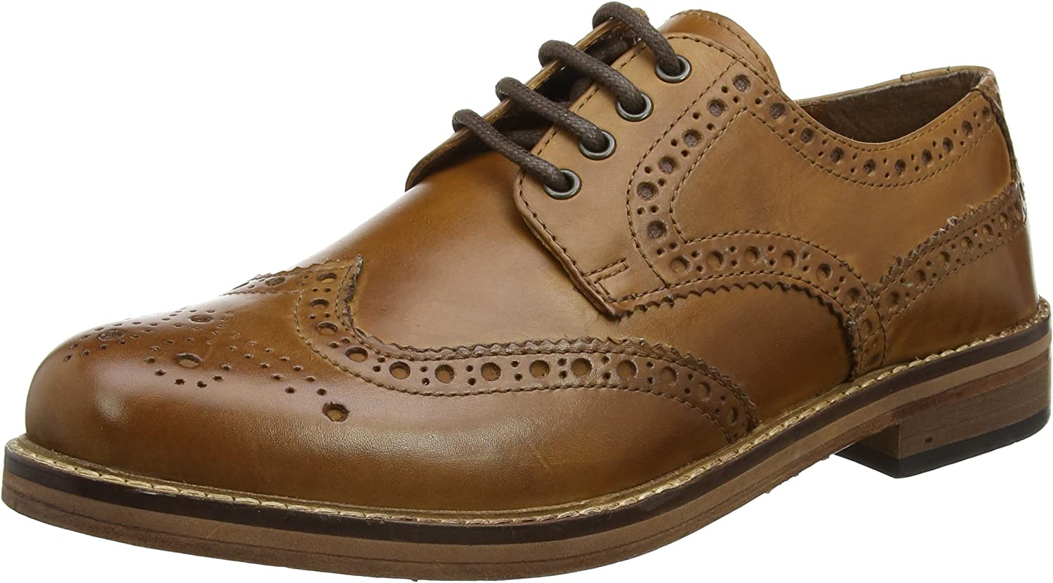 Red Tape Meath, Zapatos de Cordones Brogue para Hombre