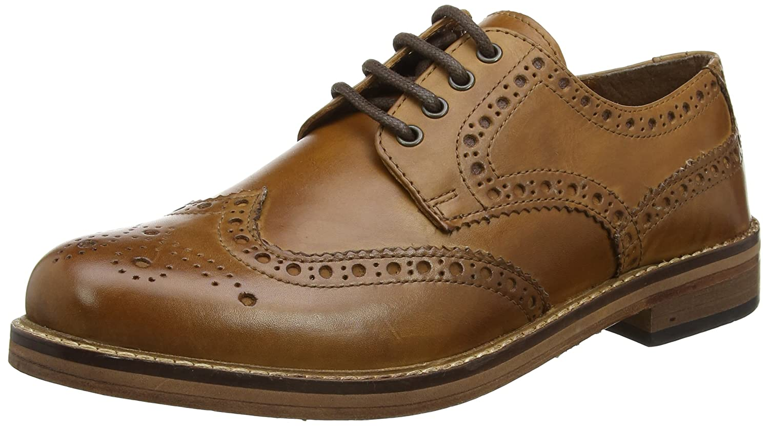 TALLA 43 EU. Red Tape Meath, Zapatos de Cordones Brogue para Hombre