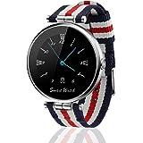 Fantime Smartwatch Relojes Inteligentes Bluetooth smartwatch Relojes de pulsera(Mensaje ,Cámara, Bluetooth, Sincronizar Llamada, Podómetro ) para Android y IOS
