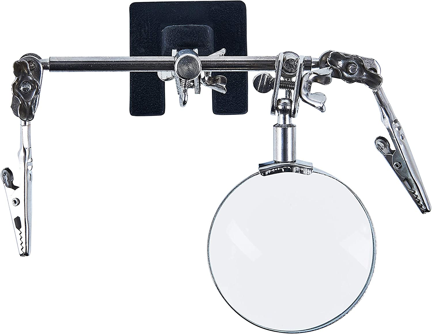 Amtech S2900 Helping Hand Magnifying Glass 60mm Transparent