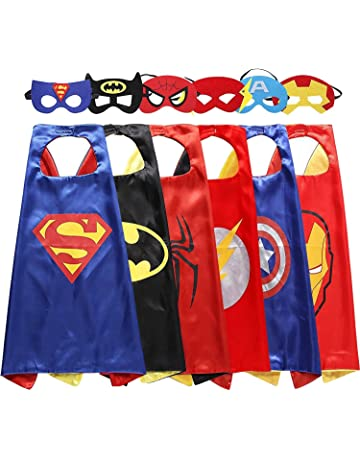 My-My Superhero Cape and Mask for Kids Costume and Dress Up - Best Gifts 370960a2f0a5