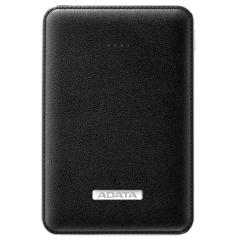 ADATA PV120 Power Bank is an Elegant Companion for Your Mobile Life(APV120-5100M-5V-CBK)