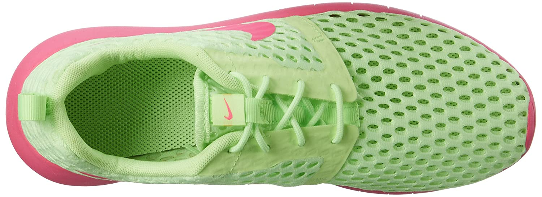NIKE Roshe One Flight Weight (GS) Youth Sneaker B01FZIKMKY 3.5 M US Big Kid|Ghost Green/Pink Blast