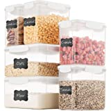 Airtight Food Storage Containers With Lids Free Plastic Kitchen Pantry Storage Containers - Dry Food Storage Containers…
