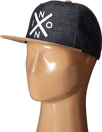 Nixon - Gorra de béisbol - para hombre negro Negro Denim: Amazon ...