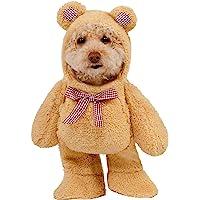 Rubies Costume Co Company 580329_S Walking Teddy Bear Pet Suit, Small