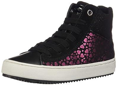 634469d79a5850 Geox J Kalispera Girl D Hi-Top Trainers: Amazon.co.uk: Shoes & Bags