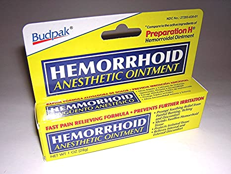 Buy Budpak Hemorrhoid Anesthetic Ointment 1 Oz Online At Low
