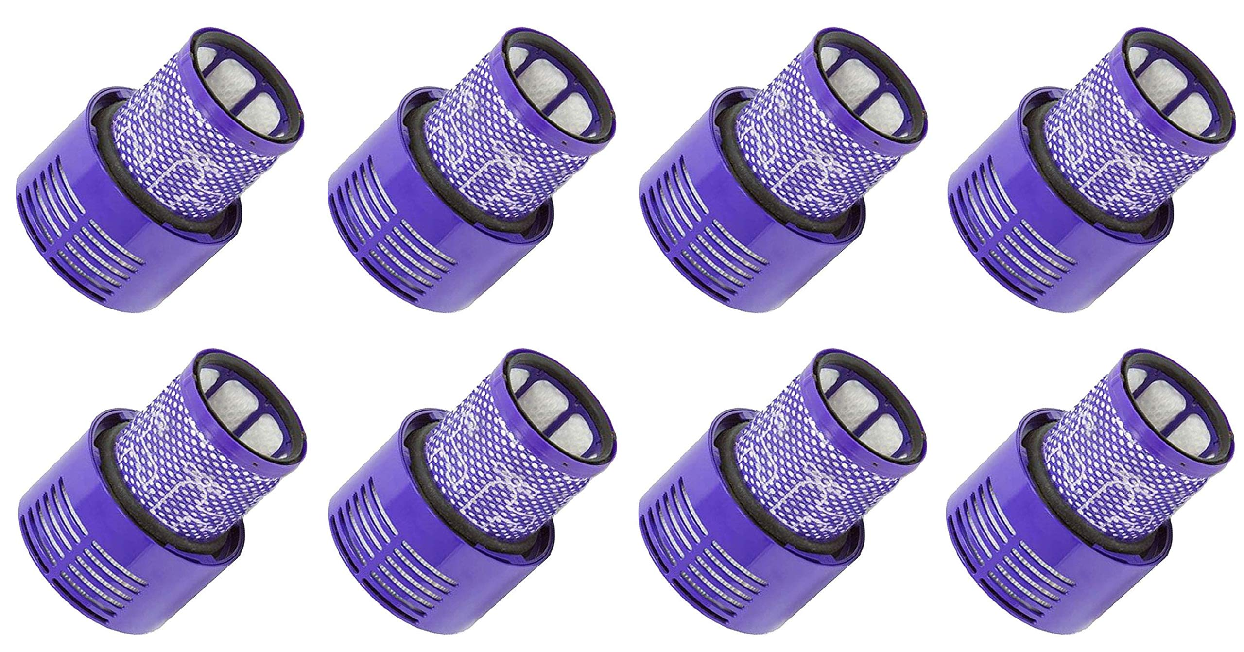 Nispira Vacuum Filter Compatible with Dyson Cyclone V10. Compare to Part # 969082-01, 8 Units