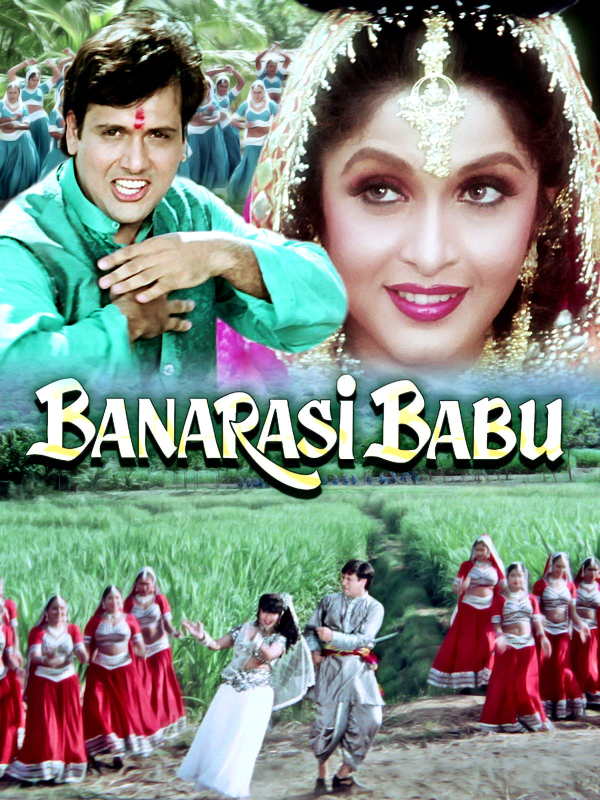 Banarasi Babu (1997) Hindi 720p HEVC HDRip x265 AAC ESubs  [650MB] Full Movie Download