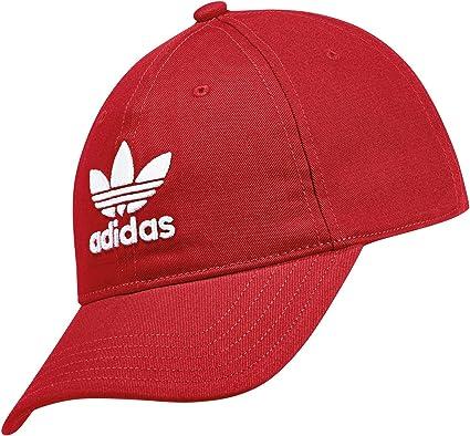 adidas DJ0884 Gorra, Hombre, Rojo/Blanco (rojuni), Talla Única ...