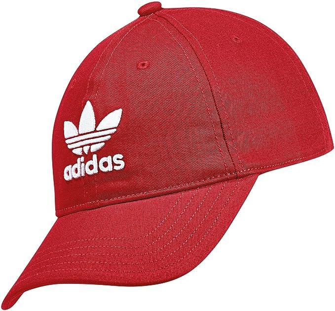 adidas DJ0884 Gorra, Hombre, Rojo/Blanco (rojuni), Talla Única: Amazon.es: Deportes y aire libre