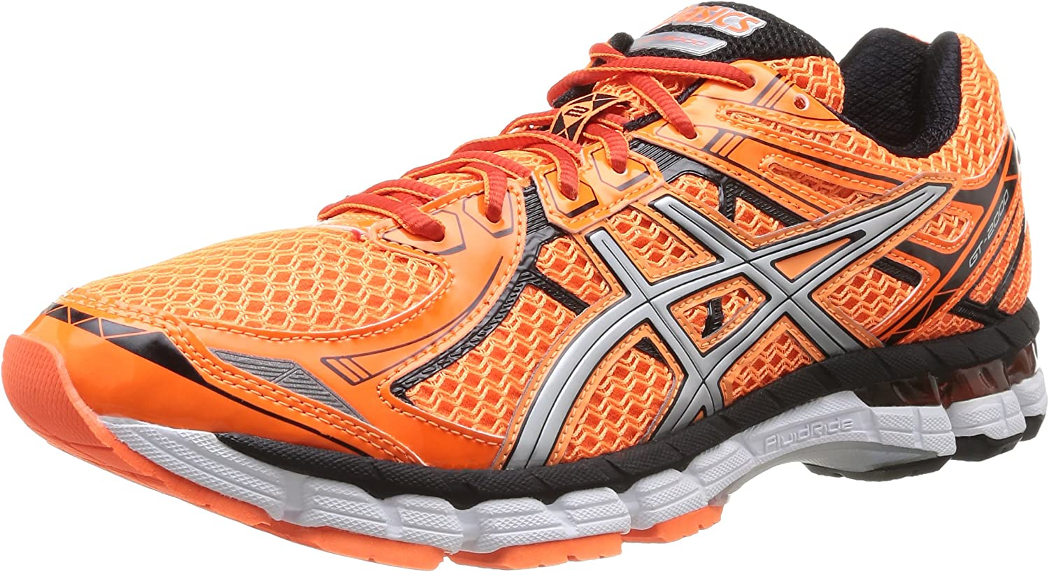 ASICS GT-2000 3 - Zapatillas de running para hombre, color naranja (flash orange/silver/black-3293), talla 40 EU (6 UK): Amazon.es: Zapatos y complementos