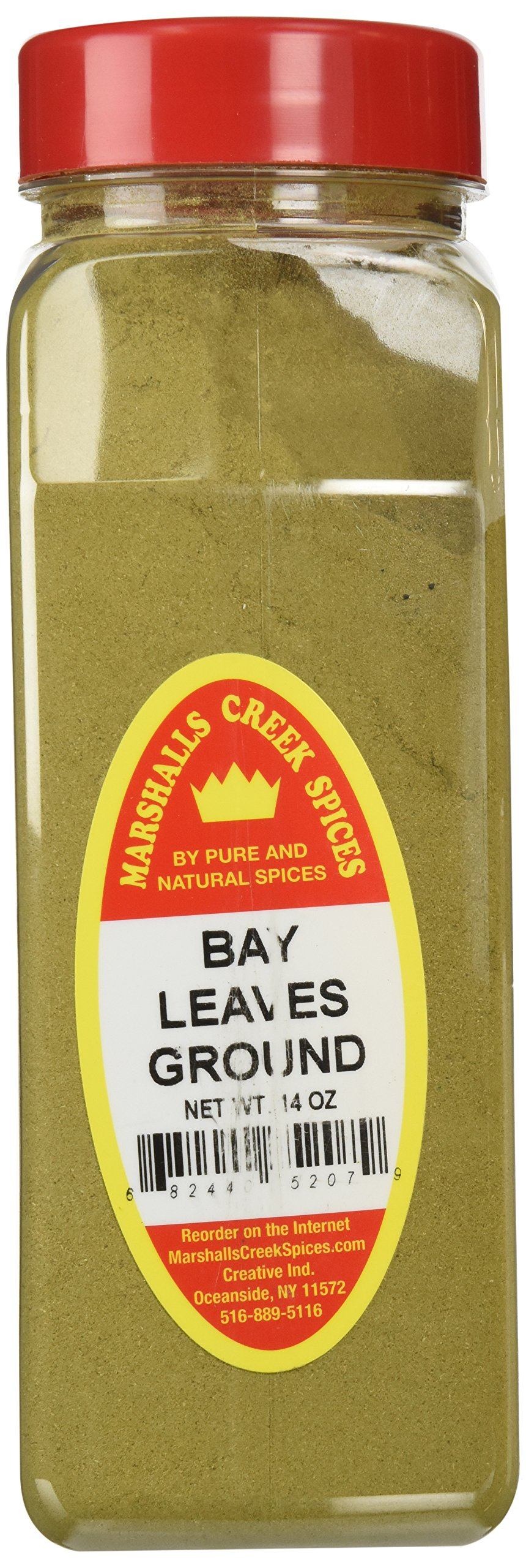 Marshalls Creek Spices X-Large Size Bay Leaves, Ground, 14 Ounces