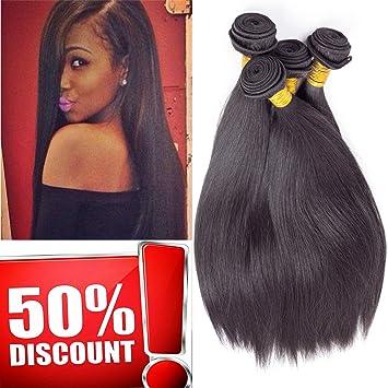 Amazon Com Brazilian Straight Hair Weave Bundles Straight Hair