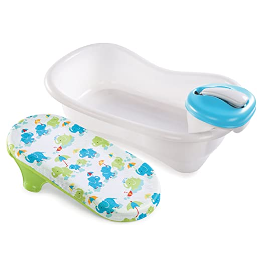 Infant Bath Tub - Summer Infant Newborn to Toddler Bath Center and Shower