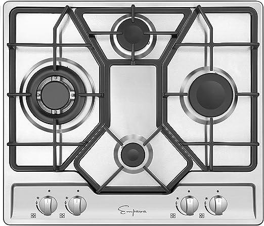 Amazon.com: Parte superior de cocina de cero inoxidable ...
