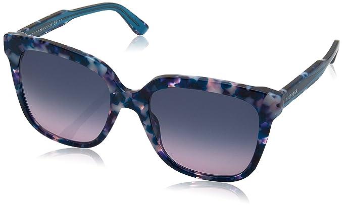 Tommy Hilfiger TH 1386/S IP, Gafas de Sol Unisex-Adulto, Blue