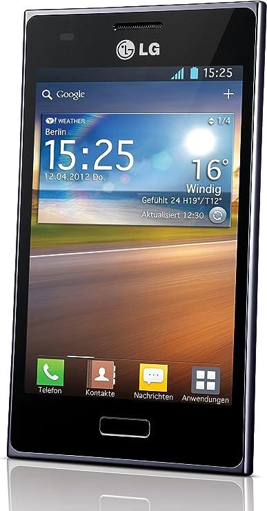 LG Optimus L5 - Smartphone libre Android (pantalla 4