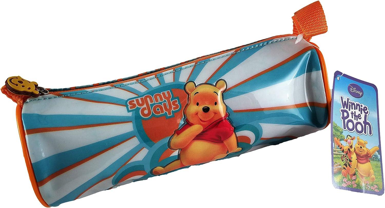 Disney Winnie The Pooh Estuche Infantil Práctico y Multifuncional (21x11,5x8 cm): Amazon.es: Oficina y papelería