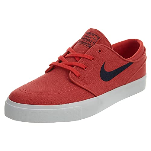 0a698ad4 Nike SB Zoom Stefan Janoski Canvas Track Red/Obsidian: Amazon.es ...