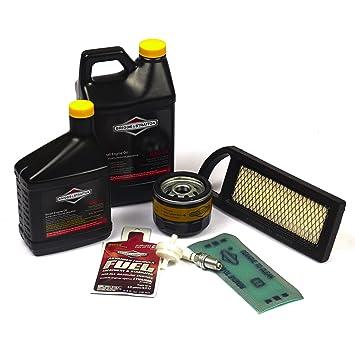 81oiaFBQl1L._SY355_ amazon com briggs & stratton 5127b tune up kit lawn mower tune  at suagrazia.org