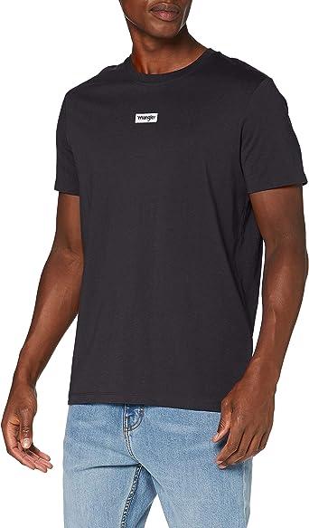 Wrangler SS Small Logo tee Camiseta para Hombre: Amazon.es: Ropa y accesorios