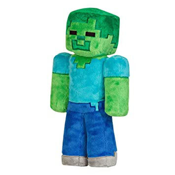Mojang Minecraft zombi suave de la felpa del juguete 12 pulgadas