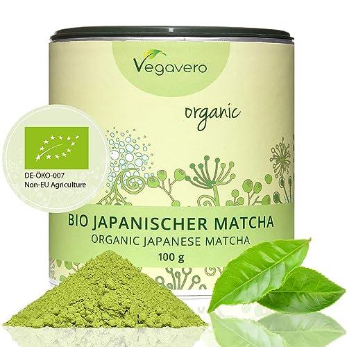 Vegavero Bio japanischer Matcha Tee, Matcha, 1er Pack (1 x 100g)