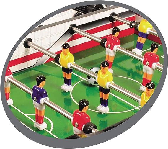 Multijuegos de sobremesa 2 en 1 Flip XM de Carromco, 06002: Carromco 06002 - Multigame 2-in-1, Flip XM, Tischauflage: Amazon.es: Juguetes y juegos