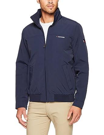 b2bab887ecc741 Tommy Hilfiger Men s New Tommy Yacht Jacket  Amazon.com.au  Fashion