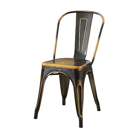 Amazon.com: Acme muebles 96784 Jakia laterales silla (juego ...