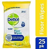 Dettol  Healthy Clean Antibacterial Floor Wipes, 25 Pack