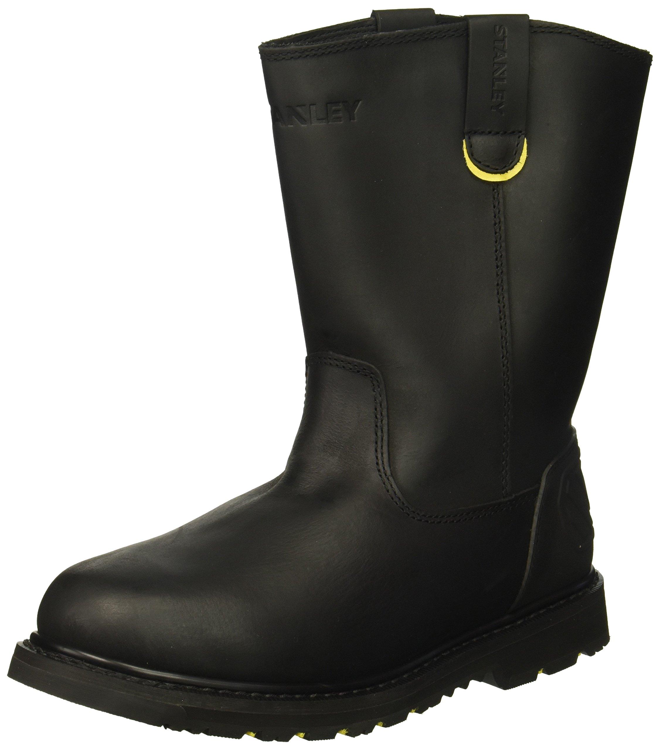 Stanley Men's Dropper 2.0 Soft Toe Industrial and Construction Shoe, Black, 10.5 M US