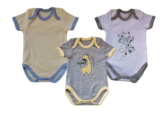 TupTam Peleles para Beb/és Ni/ña con Estampados Pack de 3