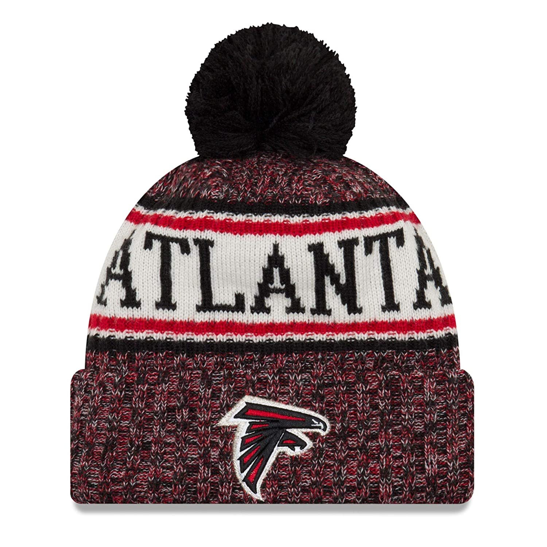 New Era ONF18 Sport Knit Bommelmütze Atlanta Falcons Schwarz Rot Size:ONE Size 11768204