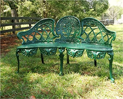 Phenomenal Amazon Com The Kings Bay English Garden Bench Furniture Machost Co Dining Chair Design Ideas Machostcouk