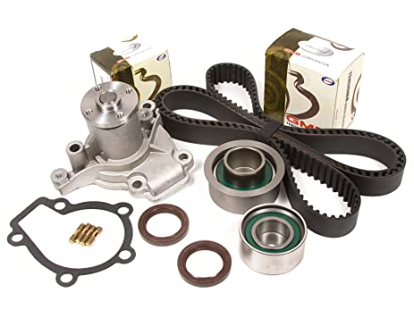 Amazon evergreen tbk284wpt hyundai elantra kia sportage evergreen tbk284wpt hyundai elantra kia sportage spectra 20l g4gf timing belt kit water pump sciox Image collections