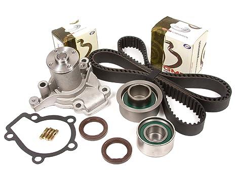 Evergreen tbk284wpt Hyundai Elantra Kia Sportage Spectra 2.0L g4gf Correa de distribución Kit Bomba de
