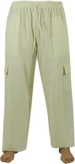 GURU-SHOP, Pantalones de Yoga Ligero, Pantalones Thai Chi ...