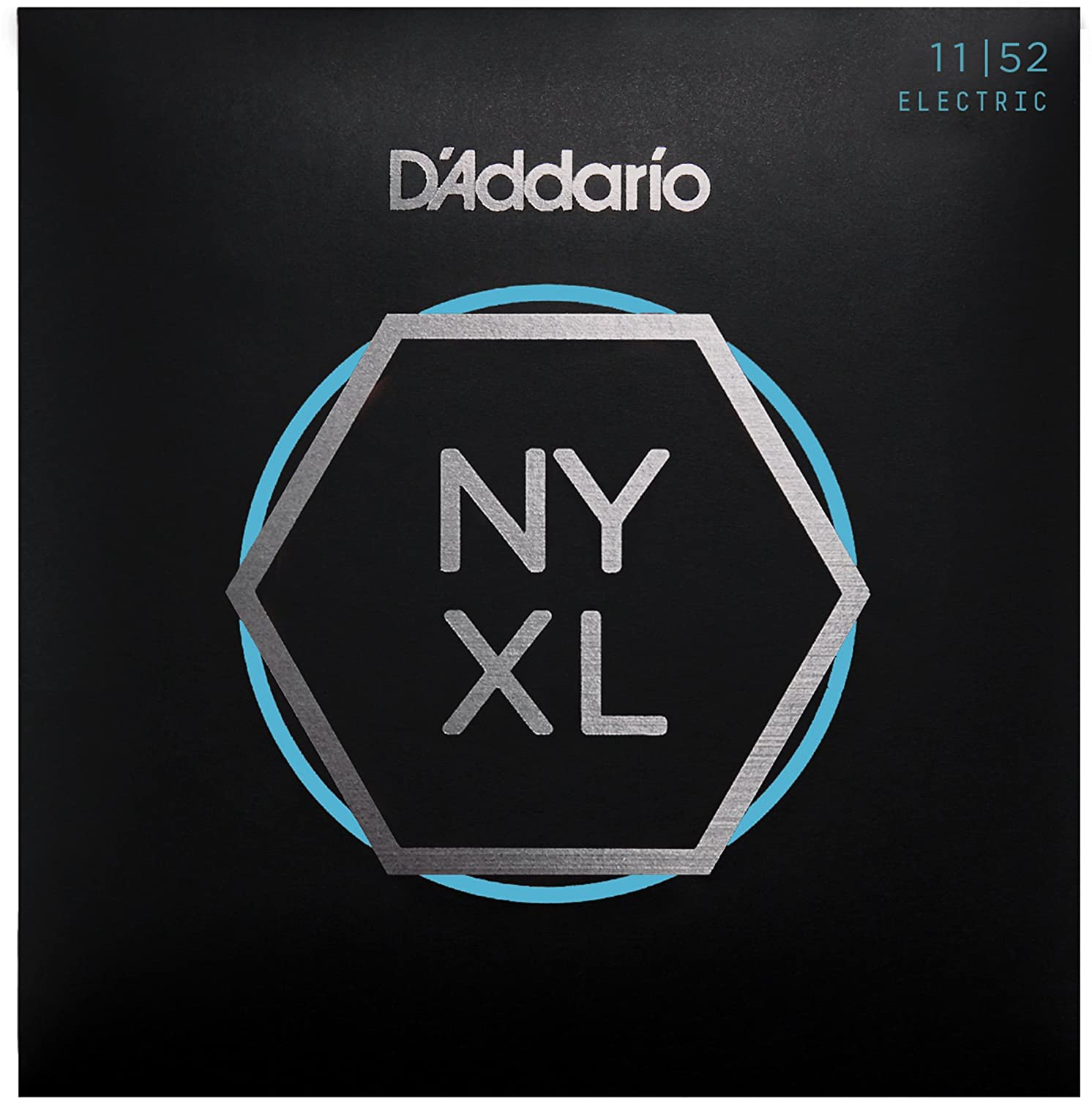 D'Addario NYXL1052 Nickel Plated Electric Guitar Strings, Custom D' Addario
