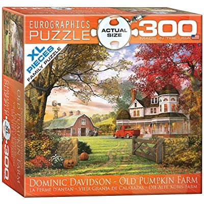 EuroGraphics Old Pumpkin Farm Jigsaw Puzzle (300-Piece): Toys & Games