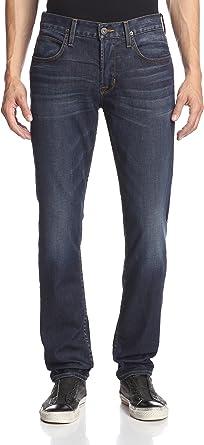 Hudson Jeans Mens Blake Slim Straight Zip Fly Denim