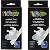 Thermos Replacement rPSFxD Straws for 12 Ounce Funtainer Bottle, Clear, 2 Count (2 Pack)
